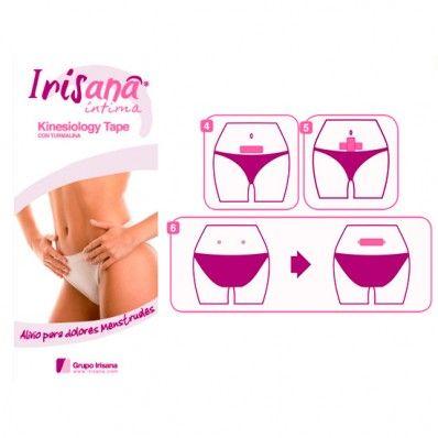 Irisana Intima -  Cinta Autoadhesiva para Dolores Menstruales, € 4,50   Cinta autoadhesiva y elástica utilizada para el vendaje neuromuscular y con excelentes resultados en el alivio de los dolores menstruales.
