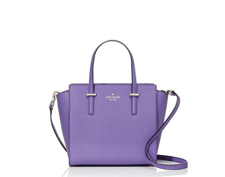 Amazon.com: Kate Spade New York Cedar Street Small Hayden Top Handle Bag Mountbatten: 297.48