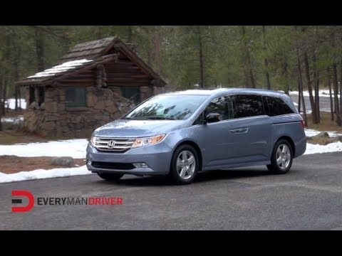 2013 Honda Odyssey Touring Elite Review on Everyman Driver with Dave Erickson.