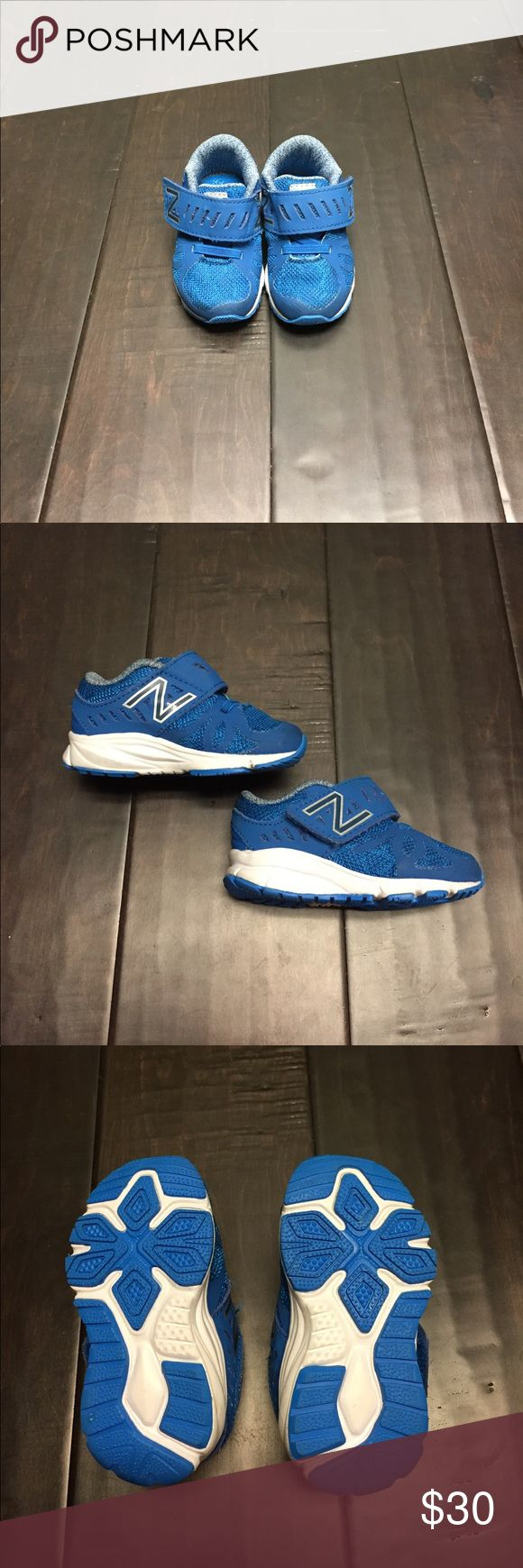 NWOT toddler New Balance Sneakers NWOT adorable toddler New Balance Sneakers. Tried on, never worn. Velcro closure. Size 4. New Balance Shoes Baby & Walker