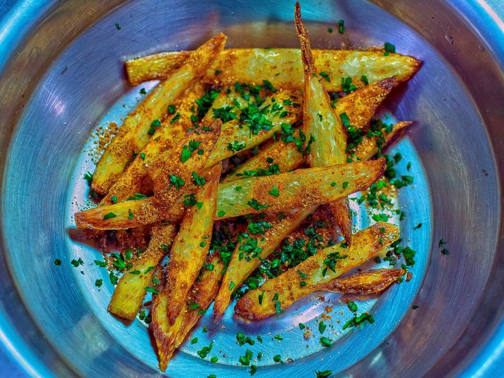 [Homemade] I made Masala-Fries out of Indian Yams. Food Recipes