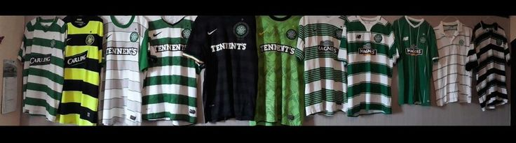WOOOOOW!!!! HERE IS A JOB LOT OF 9 EXCELLENT CONDITION GLASGOW CELTIC F.C. SHIRTS... ALL THE WAY FROM 2007 TO 2016... 9 IN A ROW... LOL LOL... :-) ALL BOUGHT IN GLASGOW... ALL GENUINE CFC (NOT REPLIKITS) ALL ARE SIZE X-LARGE... I WILL NOT SELL SEPARATELY... REASONABLE OFFERS CONSIDERED... ALSO INCLUDED IS A VERY RARE.. YEAR 2000 REP. OF IRELAND HOME SHIRT... ALSO X-LARGE AND TWO C.F.C. POLO SHIRTS FROM THE CELTIC SHOP IN ...
