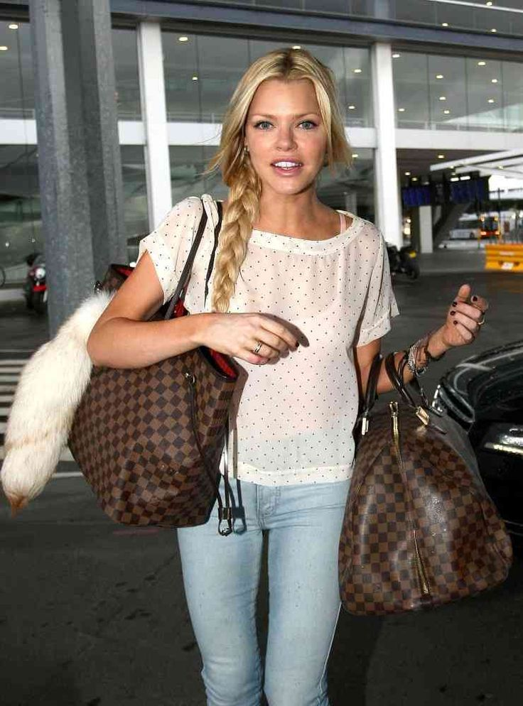 Sophie Monk Long Braided Hairstyle