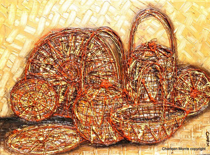 Siwai Baskets Bougainville