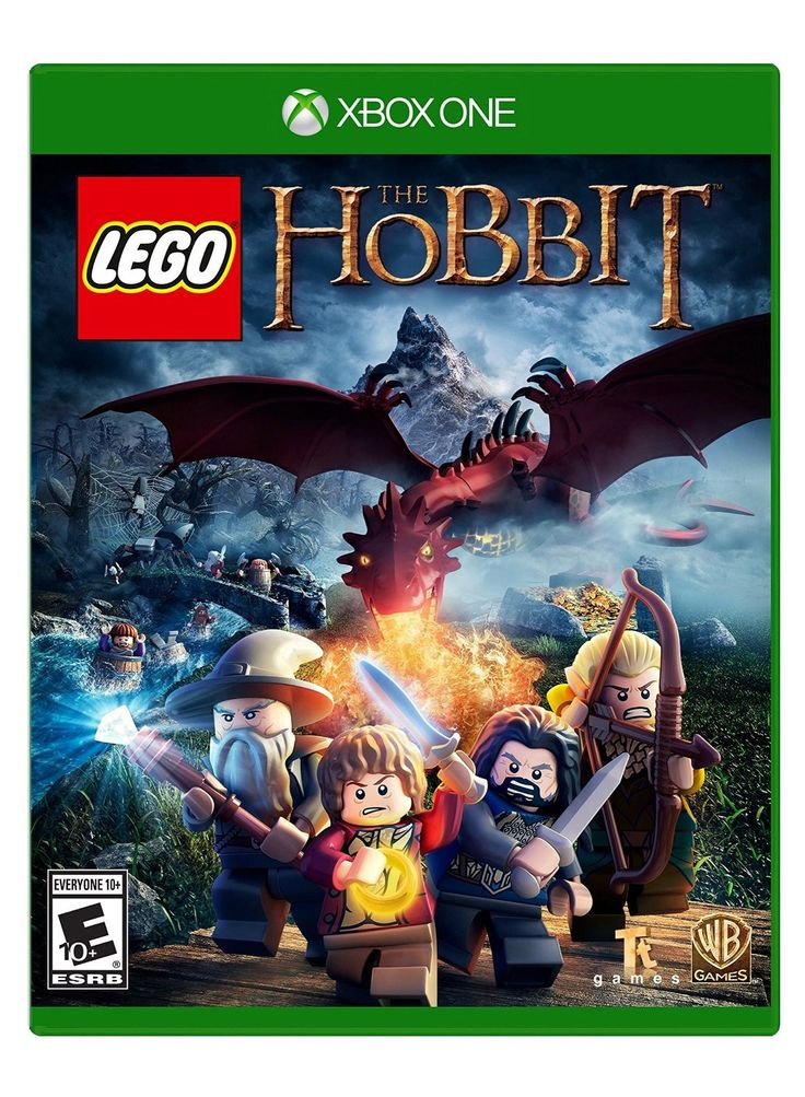 Lego the hobbit xbox one physical game disc us lego