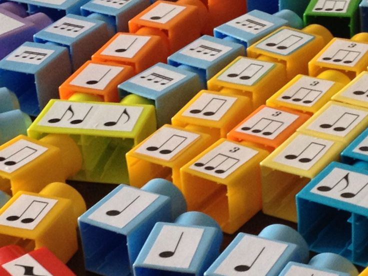 ETSY Shop -  BEAT BLOCKS - Rhythm building blocks that promote musical literacy