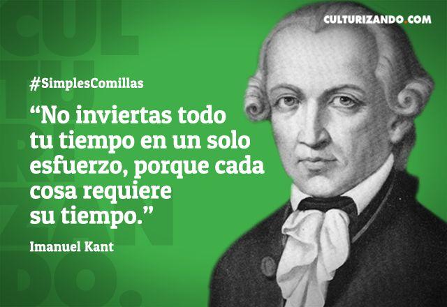 Cápsula Cultural: ¿Quién fue Immanuel Kant? (+Frases) - culturizando.com | Alimenta tu Mente