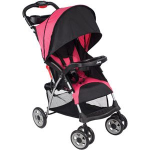 Jeep Cherokee Sport Stroller, Fuchsia  This is Sofia's stroller. It's out of stock where I live. :'(