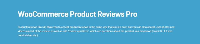 WooCommerce plugins: WooCommerce Product Reviews Pro 1.4.3 Extension Do...