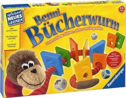 Ravensburger - Benni Buecherwurm