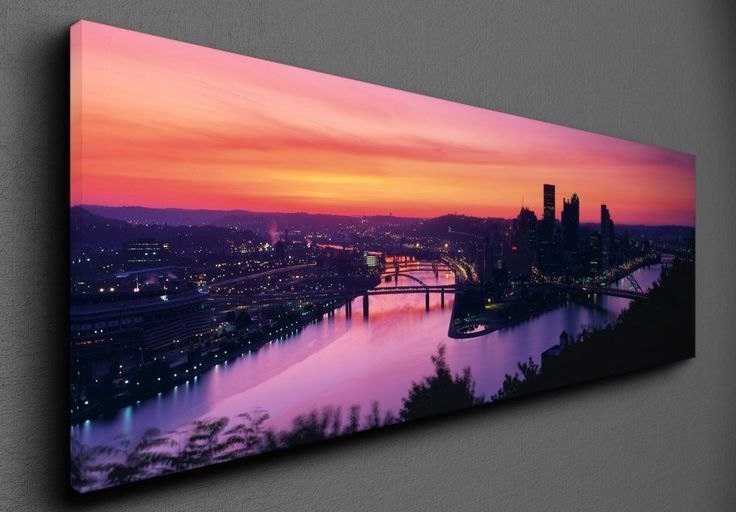 View from the Mount Washington - Canvas