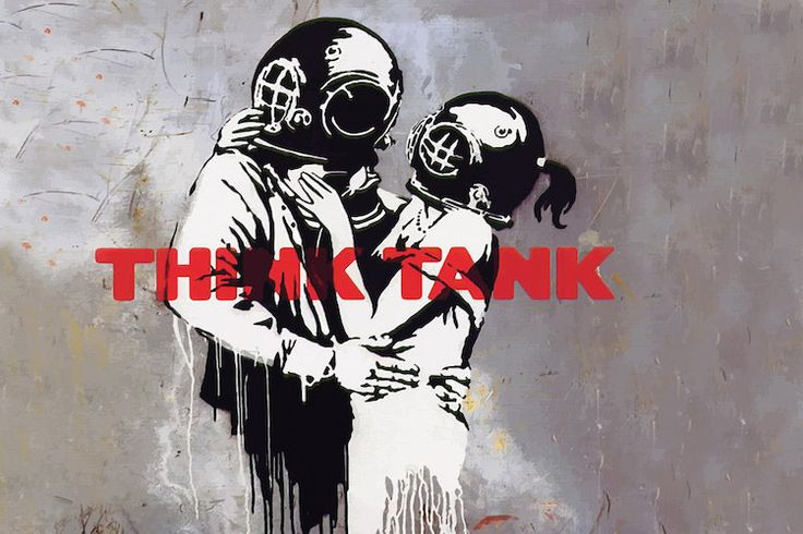 Blur Think Tank Album Cover by Banksy.