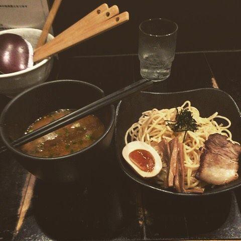 飯行くってなると最近なんかラーメンになってしまうここのつけ麺は最高に美味でした #つけ麺#青空きっど by kiyoharu_0407