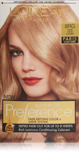 L'oreal Paris Superior Preference 8RG Rose Gold Blonde (P...…