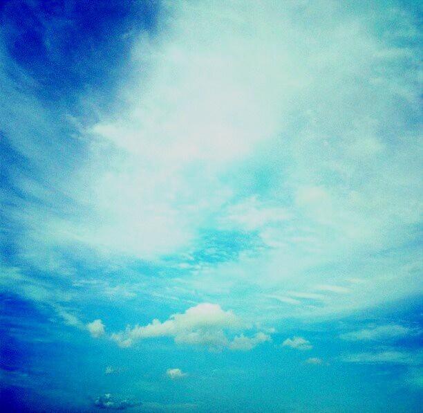 Clouds, clouds & more clouds <3