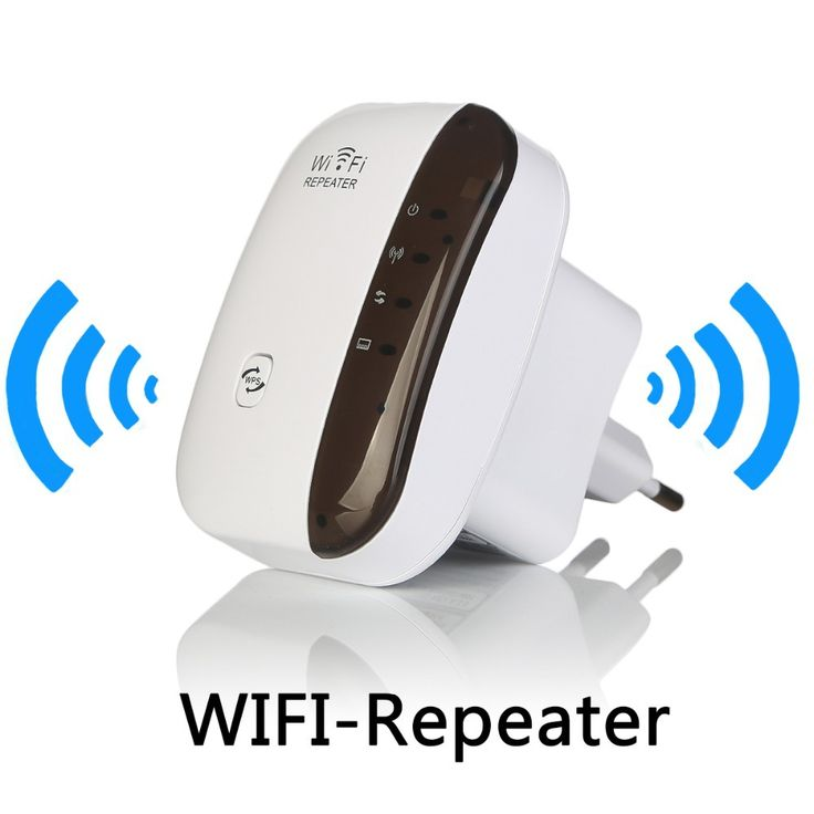 Wireless WiFi Repeater Signal Amplifier 802.11N/B/G Wi-fi Range Extander 300Mbps Signal Boosters Repetidor Wifi Wps Encryption