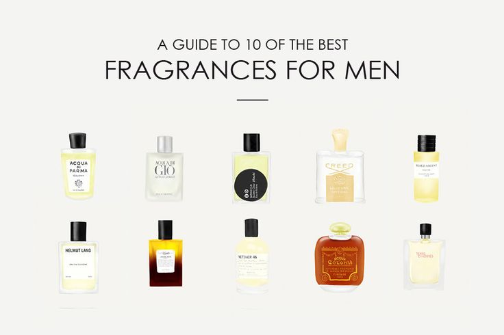 To save you from a world of average aromas, here's our list of 10 men's perfumes that are worth a second sniff.