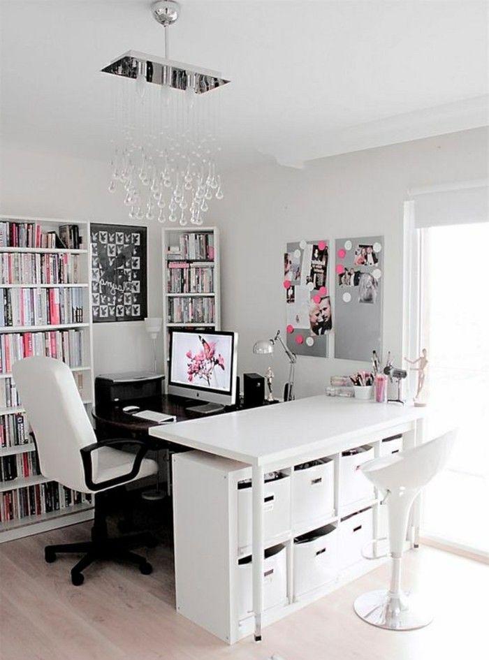 ▷ 1001+ tolle Ideen, wie Sie Ihr Arbeitszimmer gestalten können