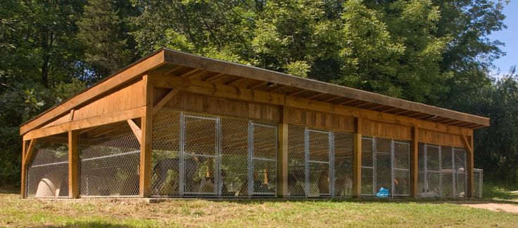 Hunting Dog Kennel Designs - Bing Images