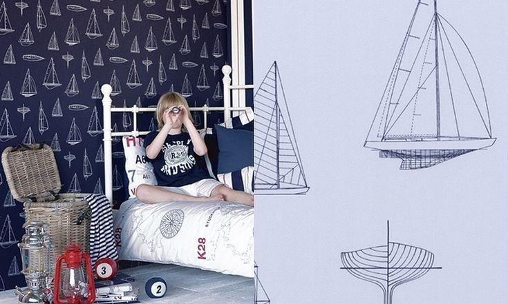 Dětský pokoj v námořnickém stylu | Styl a Interier