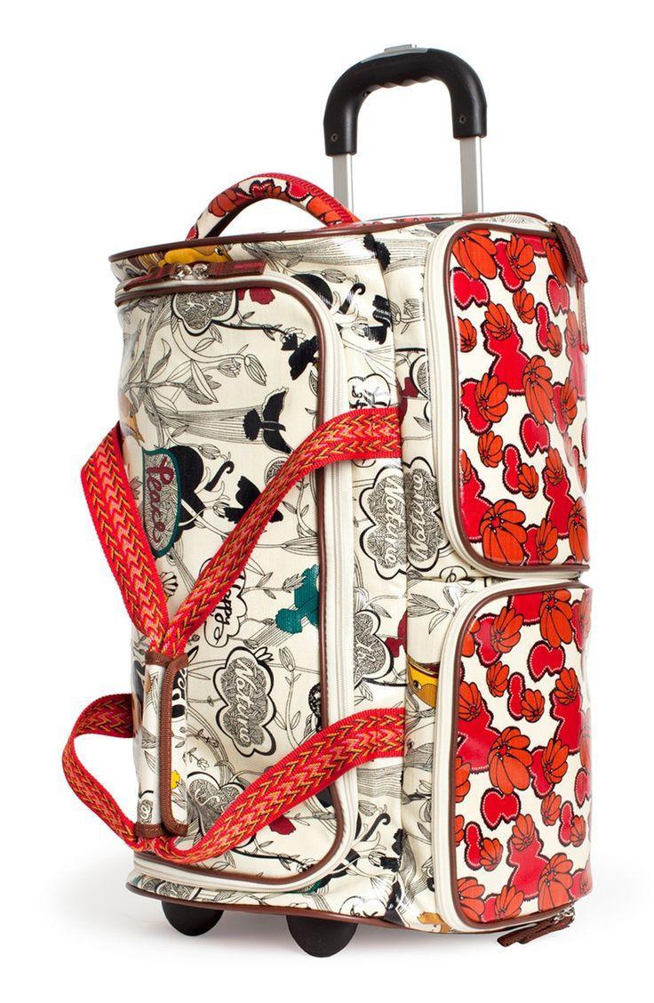 Fun travel bags for the pattern loving traveler.