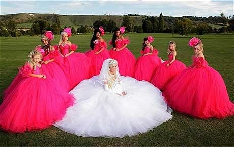 My Big Fat Gypsy Wedding...having just been a bridesmaid in the wedding from hell, I feel like I've lived an episode. Seriously though, amazing show.