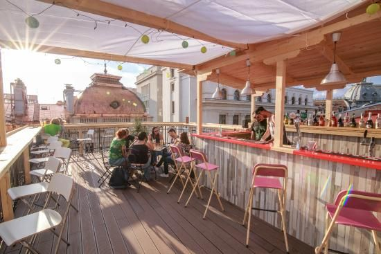 sky bar - Picture of Pura Vida Sky Bar & Hostel, Bucharest ...