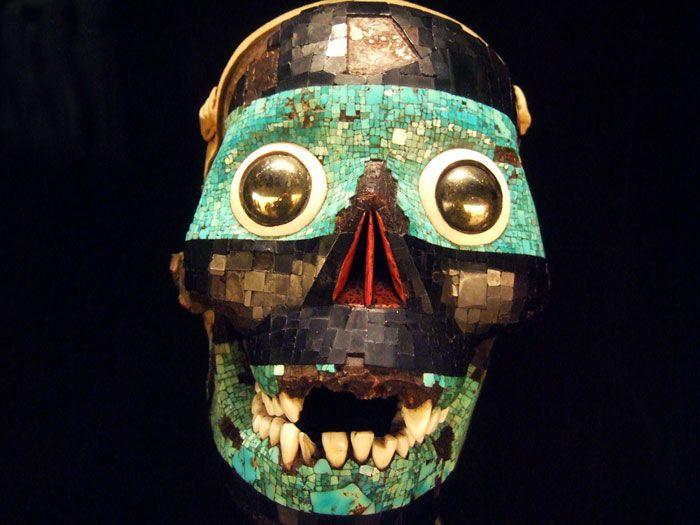 Tezcatlipoca mask