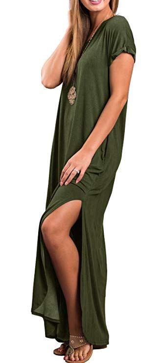 Short Tank Maxi Dress