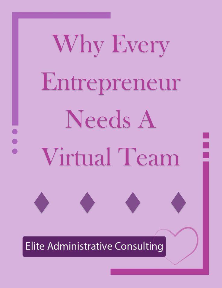 Why Every Entrepreneur Needs A Virtual Team