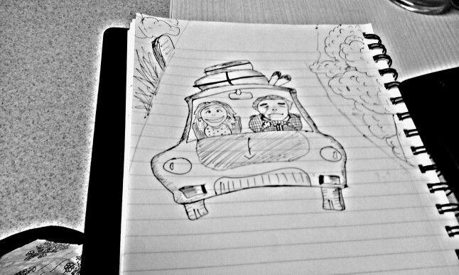Office doodling
