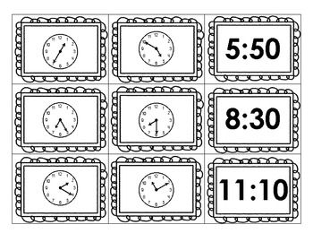 77 best images about Grade 4 (Time) on Pinterest   Bingo, Clock ...