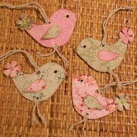 Tvoření od IVETULE: Ptáčci z papíru