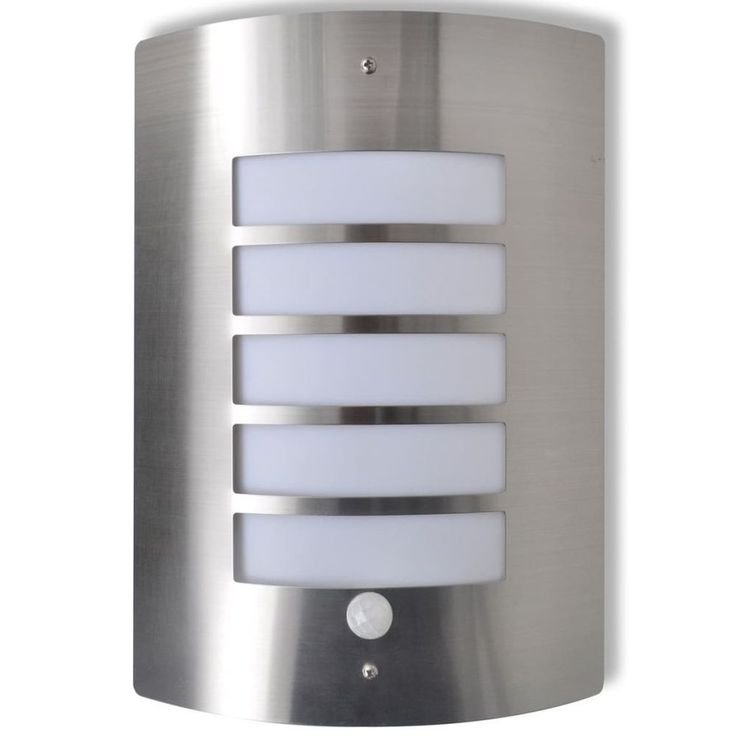 Patio Home Lighting Outdoors Garden Wall Mountable Hanging Lamp Motion Sensor #PatioHomeLighting