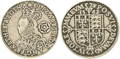 Elizabethan Money    In the England of Elizabeth, money was not an abstract concept. All coins were made of either gold or silver (not copper and certainly not paper) and a coin was worth what its constituent metals were worth.    ImageFor this reason, any foreign coin was also current in England, and the exchange rate was based upon the amount of specie it contained relative to an English coin.