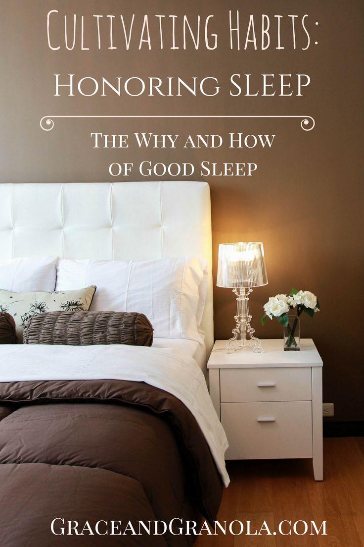 Cultivating Habits: Honoring Sleep