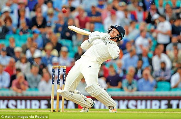 Jonny Bairstow played an entertaining innings which reminded David Lloyd of Adam Gilchrist