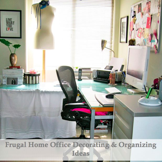 Home Office Decorating Tips: 39 Best Images About Office Style On Pinterest