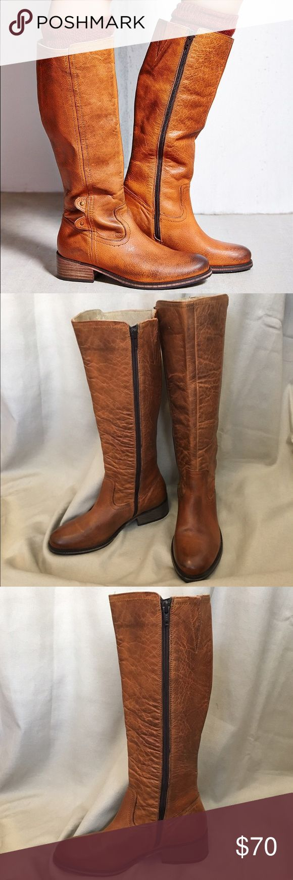 Seychelles Riding Boot 8.5 Never Worn Tall leather, zip-up riding boot by Seychelles- excellent condition, never worn. Seychelles Shoes Combat & Moto Boots