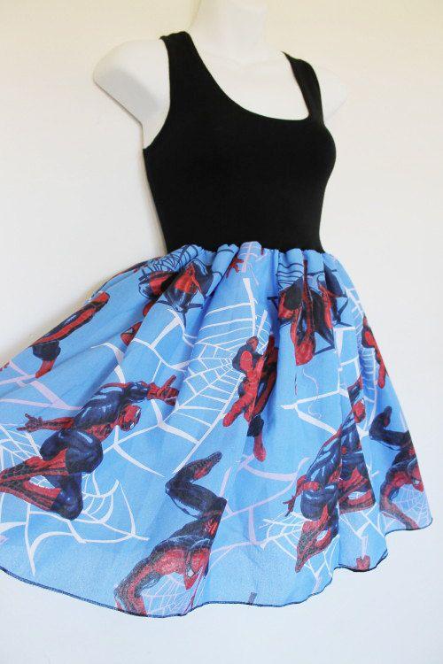 spiderman dress  :D