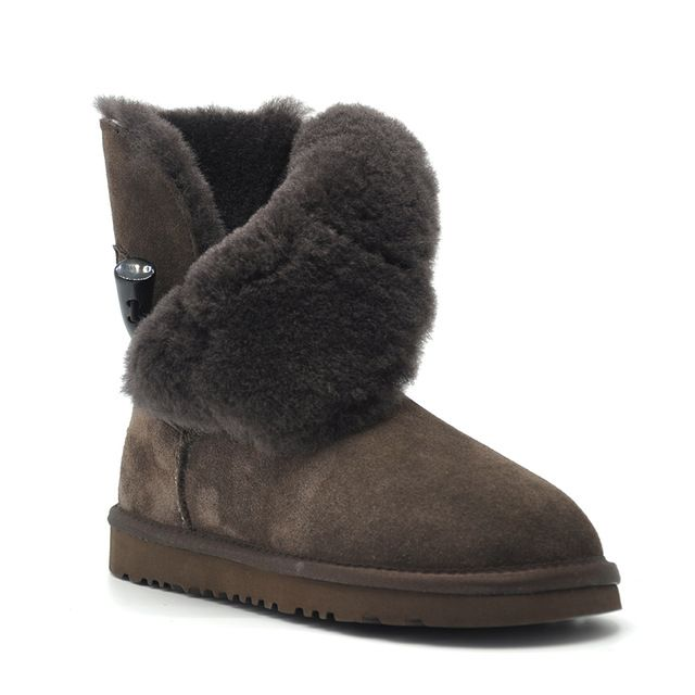 Check lastest price Free Shipping New Arrival 100% Real Fur Classic Mujer Botas Waterproof Genuine Cowhide Leather Snow Boots Winter Shoes for Women just only $38.00 with free shipping worldwide  #womenshoes Plese click on picture to see our special price for you