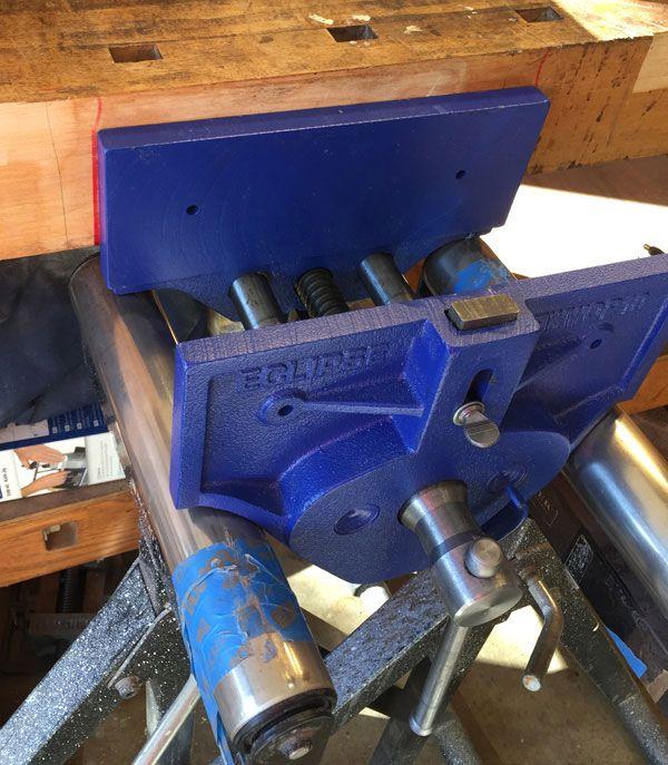 Installing My Eclipse Bench Vise | Forrest Bonner