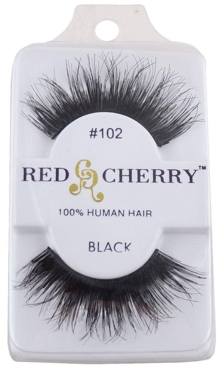 #102 Red Cherry Lashes (Ships Free, No Minimum), Free Shipping at Nail Polish Canada