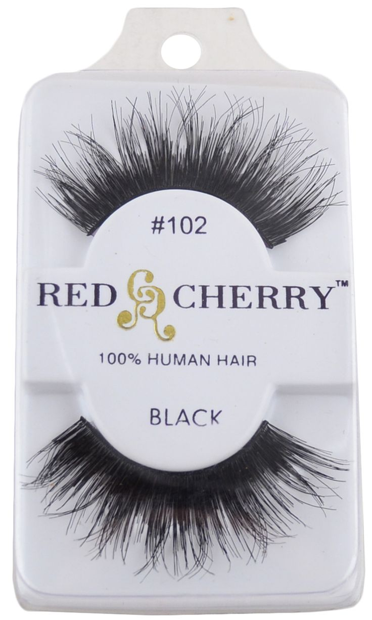 #102 Red Cherry Lashes (Ships Free, No Minimum), Free Shipping at Nail Polish Canada