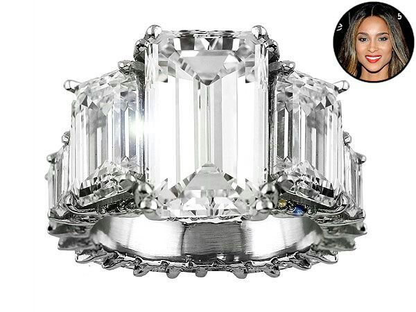 Ciara's 8 million dollar engagement ring from Future...