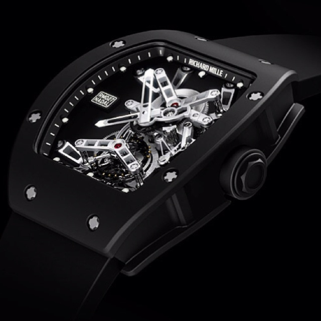 RICHARD MILLE RM 027 NADAL WATCH It would be pretty tough to own the clay like Rafael Nadal, but at least now you can tell time the same way. The Richard Mille RM 027 Nadal Watch ($525,000) is the swingin' Spaniard's new signature timepiece. It features a movement made from titanium and LITAL alloy, a high lithium content alloy containing aluminium, copper, magnesium and zirconium — which you can also find in the Airbus A380 — a free-sprung balance to stay reliable despite shocks, a carbon…