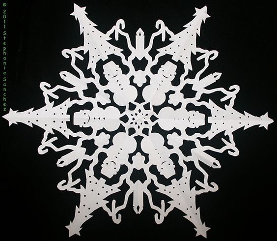 The 25 best Paper snowflake patterns ideas on Pinterest  Paper