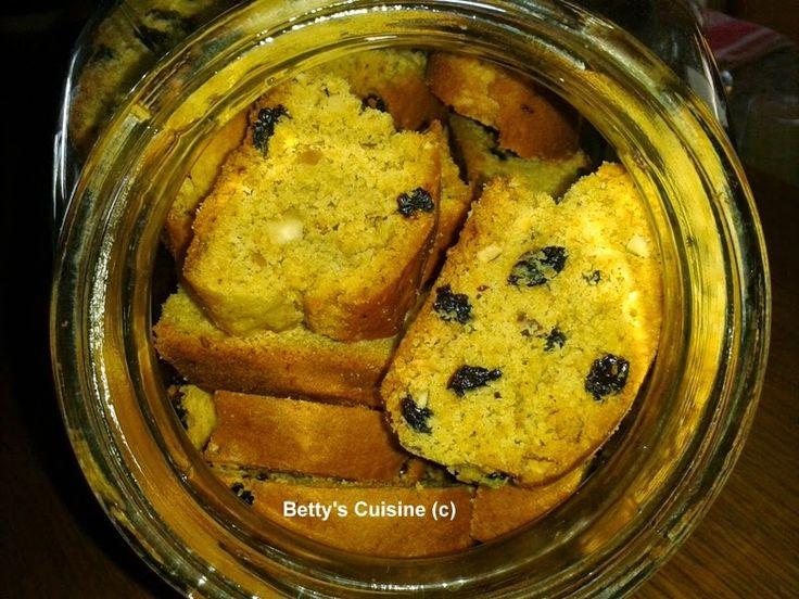 Betty's Cuisine: Νηστίσιμα παξιμαδάκια με σταφίδες και αμύγδαλα