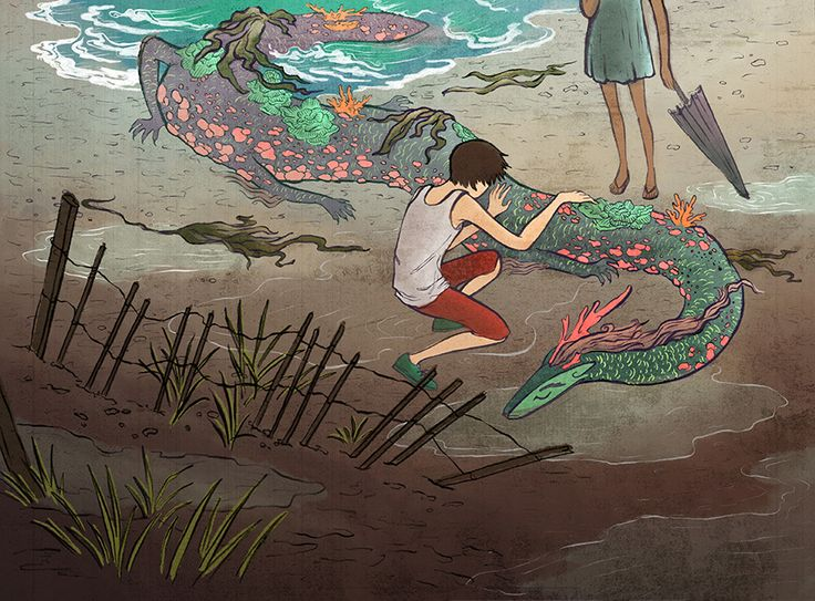 Out of the Ocean - esther lui