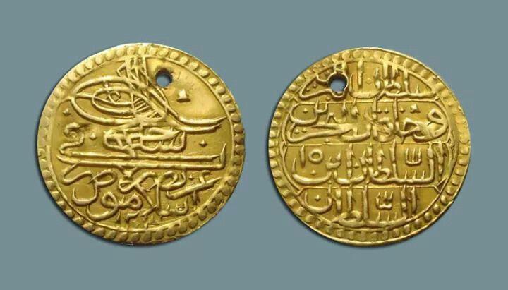 OSMANLI ISLAMBOL ALTINI 1789. OTTOMAN GOLD COIN, ISLAMBOL(ISTANBUL) 1789